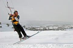 ski de cerf-volant image stock