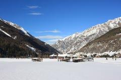 Ski de fond Photographie stock libre de droits