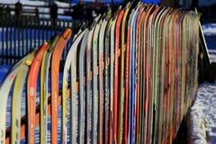 ski de frontière de sécurité Image libre de droits