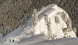 Ski de jour ensoleillé Photo libre de droits