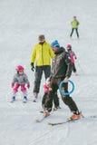 ski de personnes Images stock