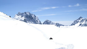 ski de ressource Photo libre de droits