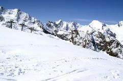 ski de ressource Photographie stock