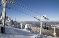 ski de ressource Photos libres de droits