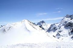 ski de ressource Photos stock