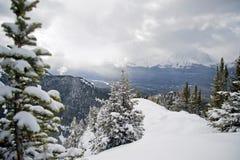 ski de ressource de Lake Louise photos libres de droits