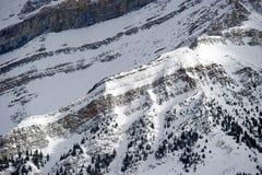 ski de ressource de Lake Louise photographie stock libre de droits