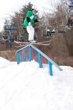 Ski de style libre images libres de droits