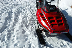Ski-doo Royalty Free Stock Photo