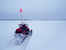 Ski-Doo Safari Royalty Free Stock Images