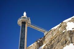 Ski Elevator en Frutt, Suiza Fotos de archivo libres de regalías