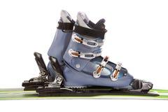 Ski en laars Royalty-vrije Stock Fotografie