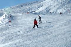 Ski?end kind Royalty-vrije Stock Afbeeldingen