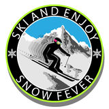 Ski and Enjoy Stock Images