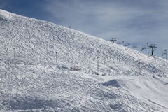 Ski equipment Royalty Free Stock Photo