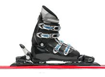 Ski equipment Stock Images