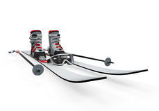 Ski Equipment  Royalty Free Stock Photography