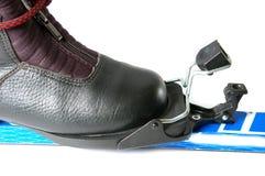 Ski fastening Stock Image
