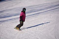 Ski folklorique de Pékin Images stock