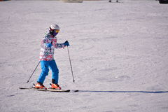 Ski folklorique de Pékin Photo stock
