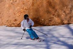 Ski folklorique de Pékin Image libre de droits