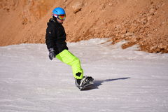 Ski folklorique de Pékin Photos libres de droits