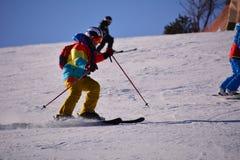 Ski folklorique de Pékin Photo libre de droits