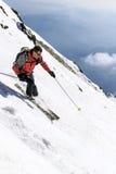 Ski freeride royalty free stock photography