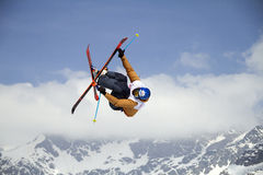 Ski freestyle Royalty Free Stock Images