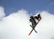 Ski freestyle Stock Photos