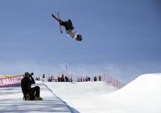 Ski freestyle stock photos