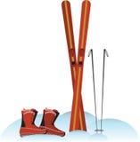 Ski Gear Imágenes de archivo libres de regalías