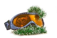 Ski glass Stock Images