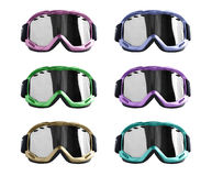 Ski glass collection Royalty Free Stock Image