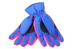 Ski Gloves Royalty Free Stock Photos