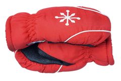 Ski Gloves Stock Image
