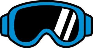 Ski Goggle Pictogram. Vector sports Royalty Free Stock Image