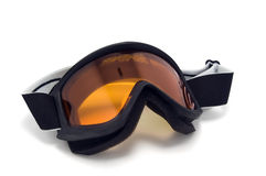 Ski goggles. On white background Stock Images