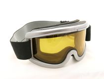 Ski goggles. Isolated on white background Stock Photography