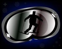 Ski Goggles stilizzato royalty illustrazione gratis
