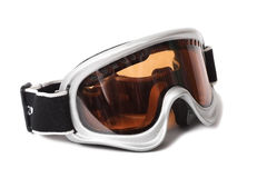Ski goggles on white background Stock Photos