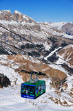 Ski Gondola in Arabba, Italy Stock Image
