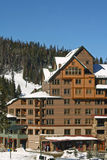Ski-Hütte Lizenzfreie Stockfotos