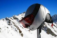 Ski Helmet Stock Images