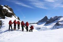 Ski het reizen in Valhalla-Park Royalty-vrije Stock Afbeeldingen