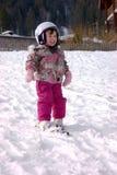 Ski heureux Images libres de droits