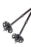 Ski and hiking poles Stock Images