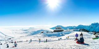 Ski Holiday Royaltyfri Bild