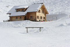 Ski Hut Stock Photography