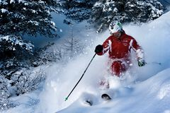 Ski instructor Royalty Free Stock Images
